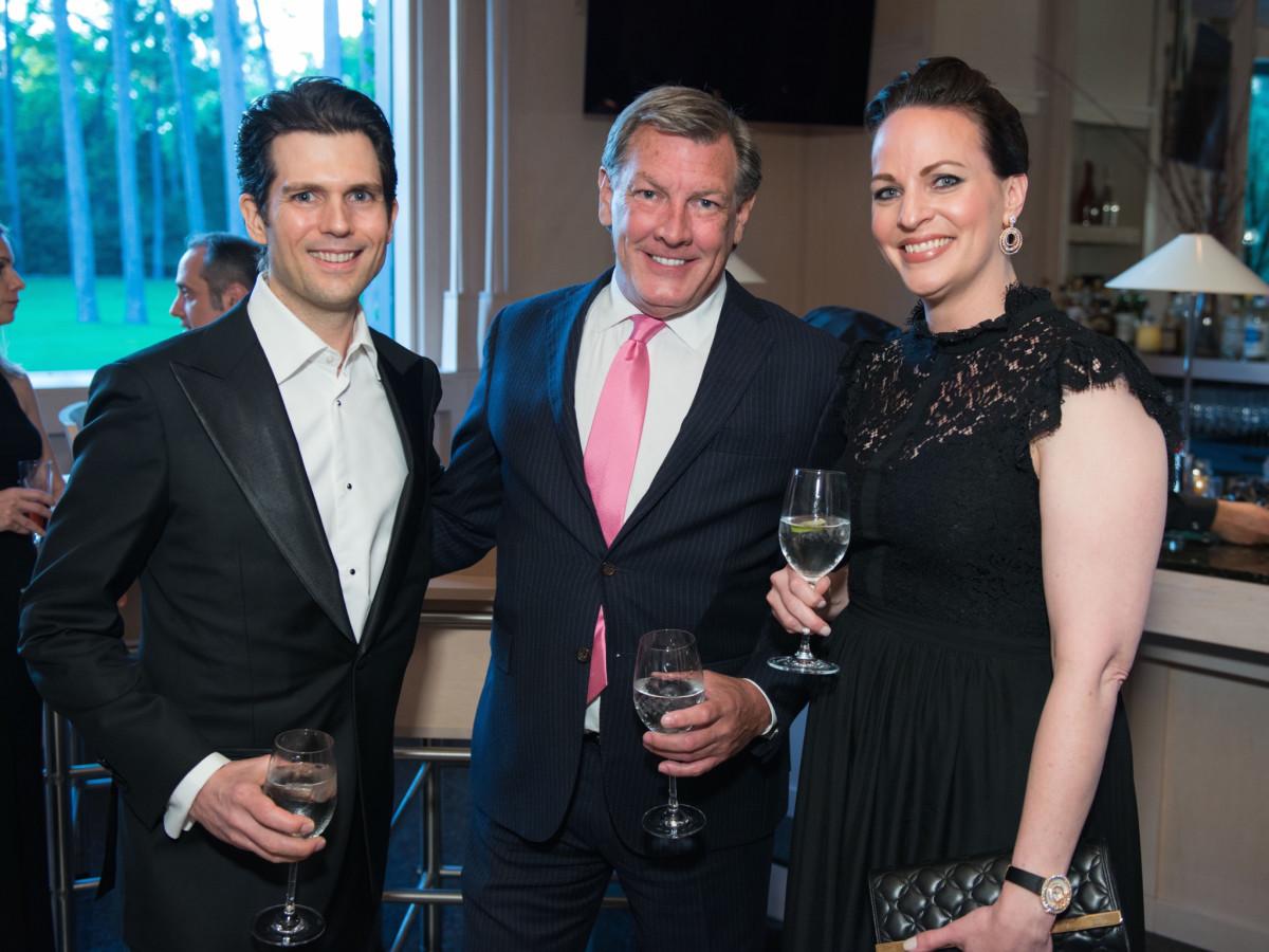 Tory Watson, Neal Hamil, Natalie Watson at Recipe for Success dinner