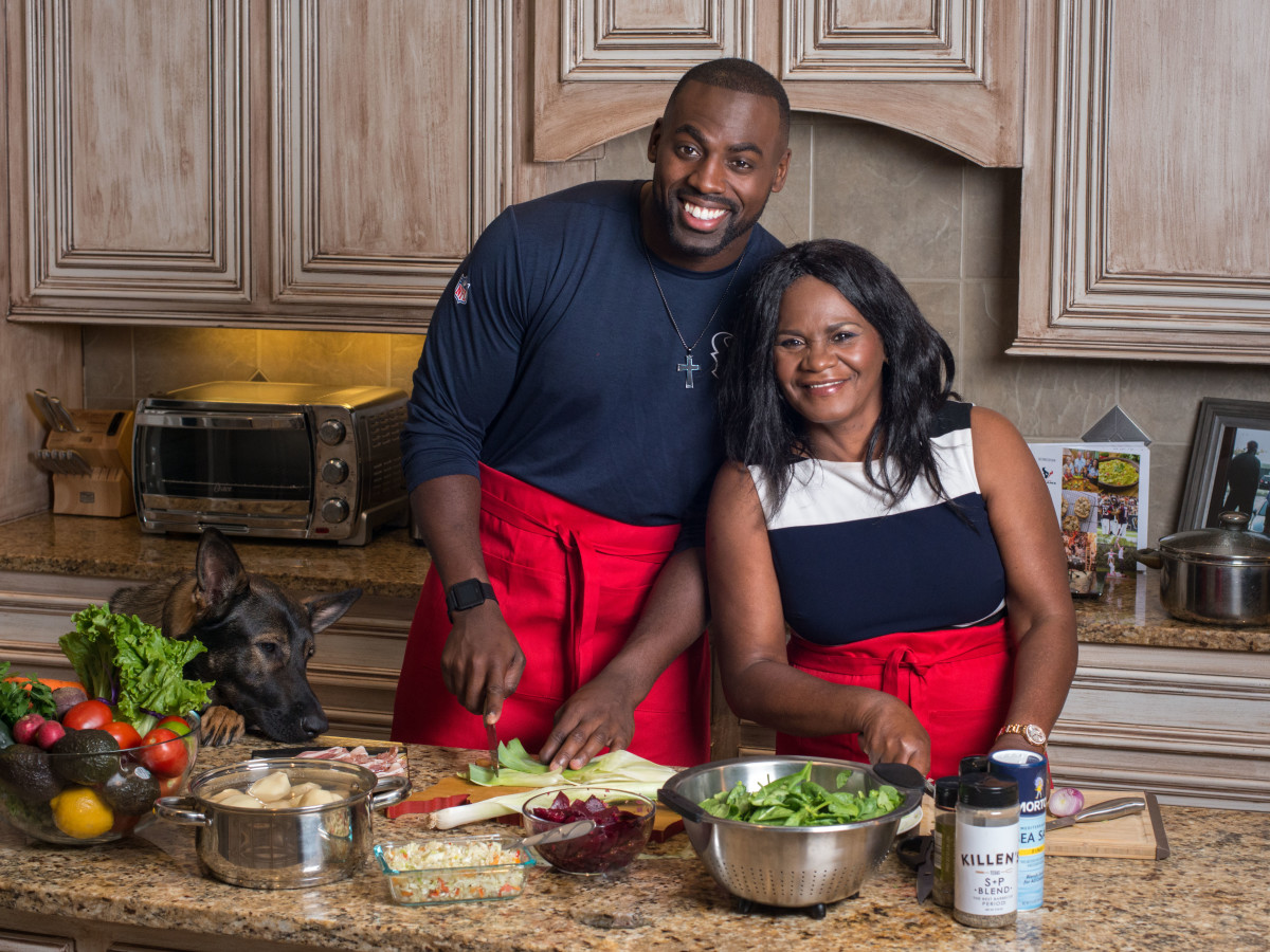 Whitney Mercilus and Mom