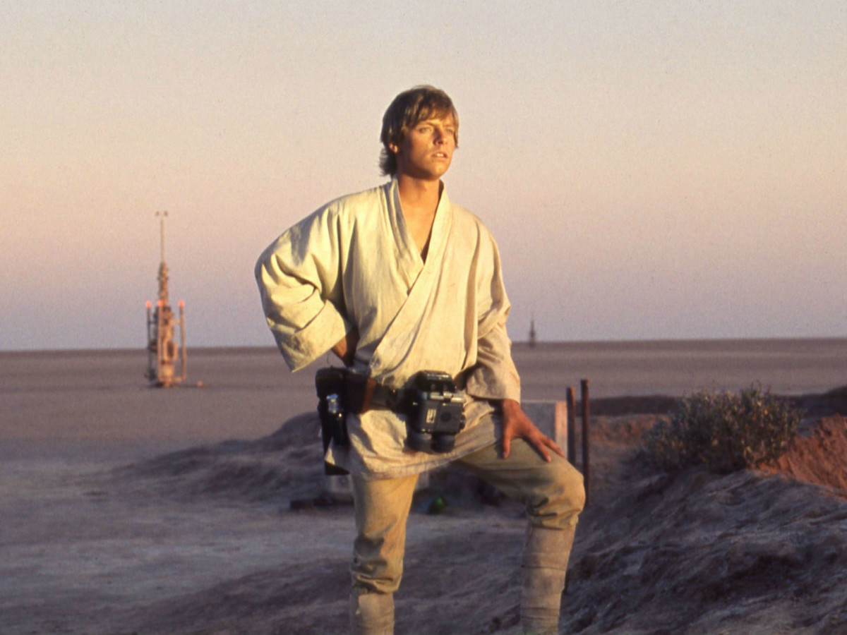 Luke Skywalker in Star Wars