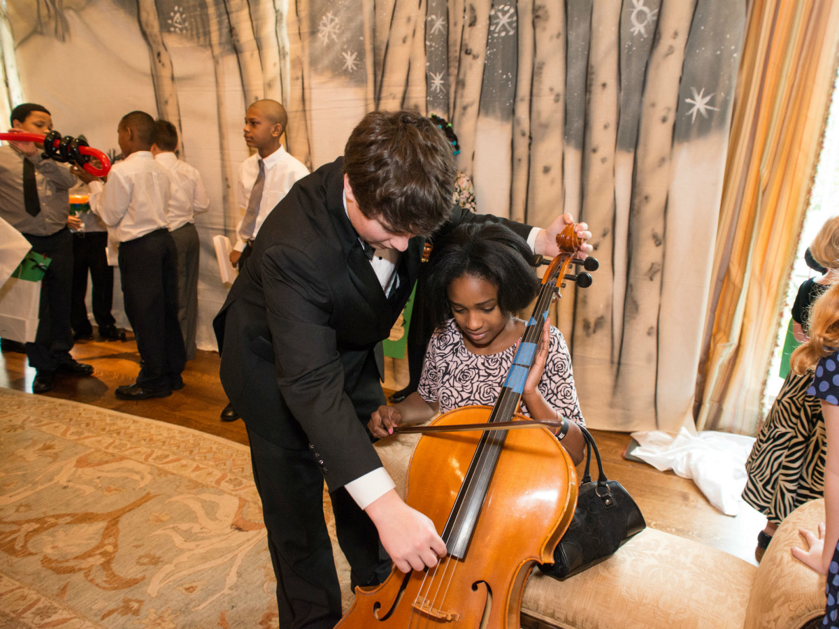 17 Instrument Petting Zoo at the Houston Symphony Magical Morning December 2014