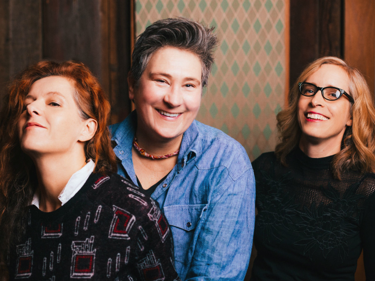 Neko Case, K.D. Lang, and Laura Veirs