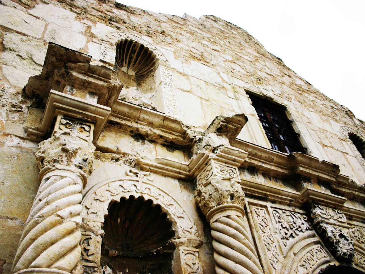 The Alamo, mission, San Antonio, November 2012