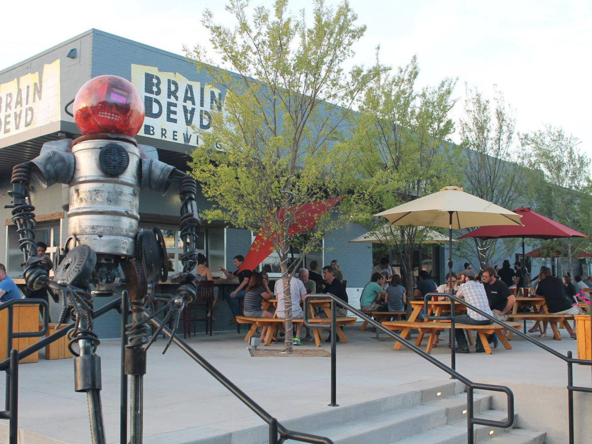 BrainDead Brewing in Deep Ellum