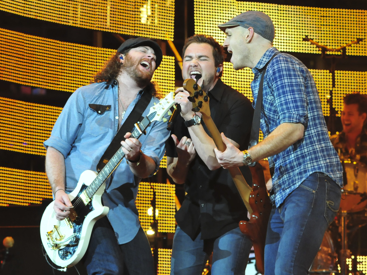 Eli Young Band at Houston rodeo March 2014