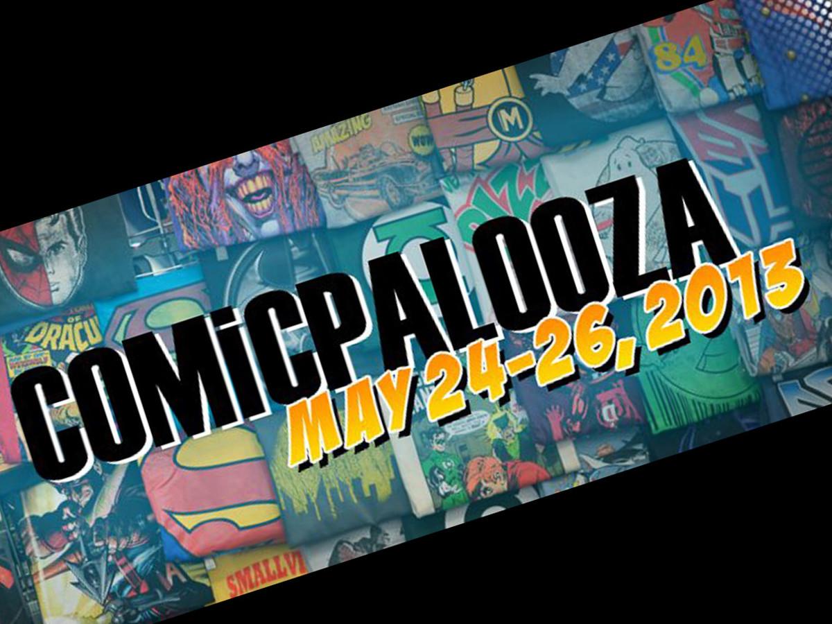 Comicpalooza 2013, logo