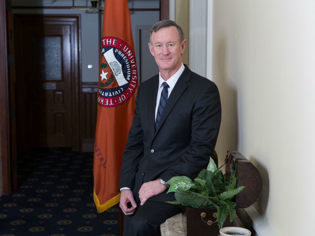 University of Texas Chancellor William McRaven
