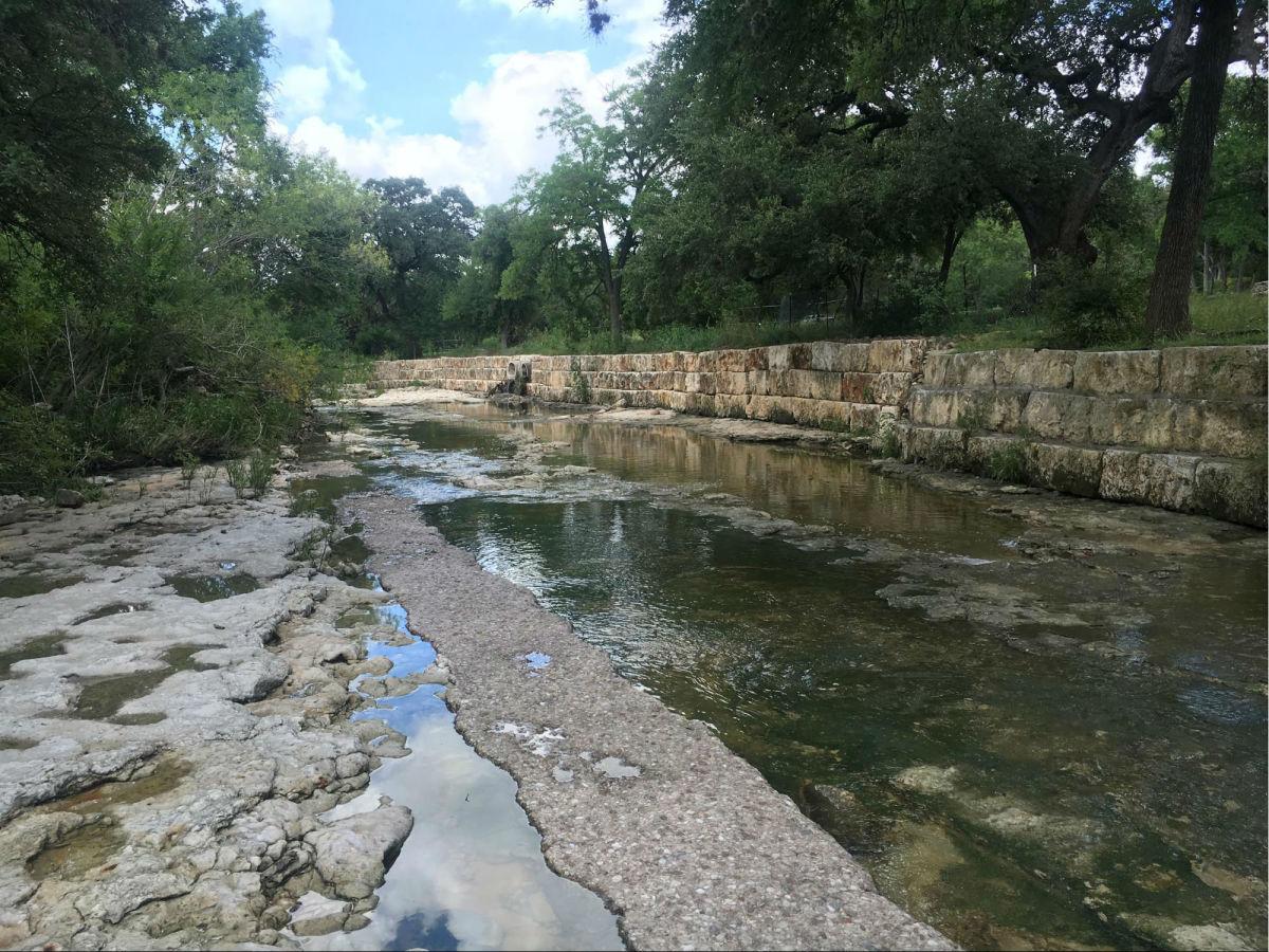 Shoal Creek in Austin