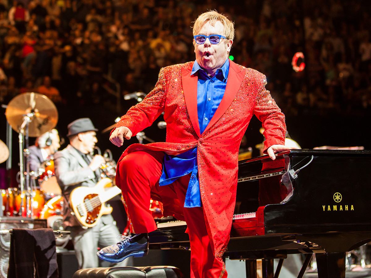 Elton John, March 2013, Toyota Center
