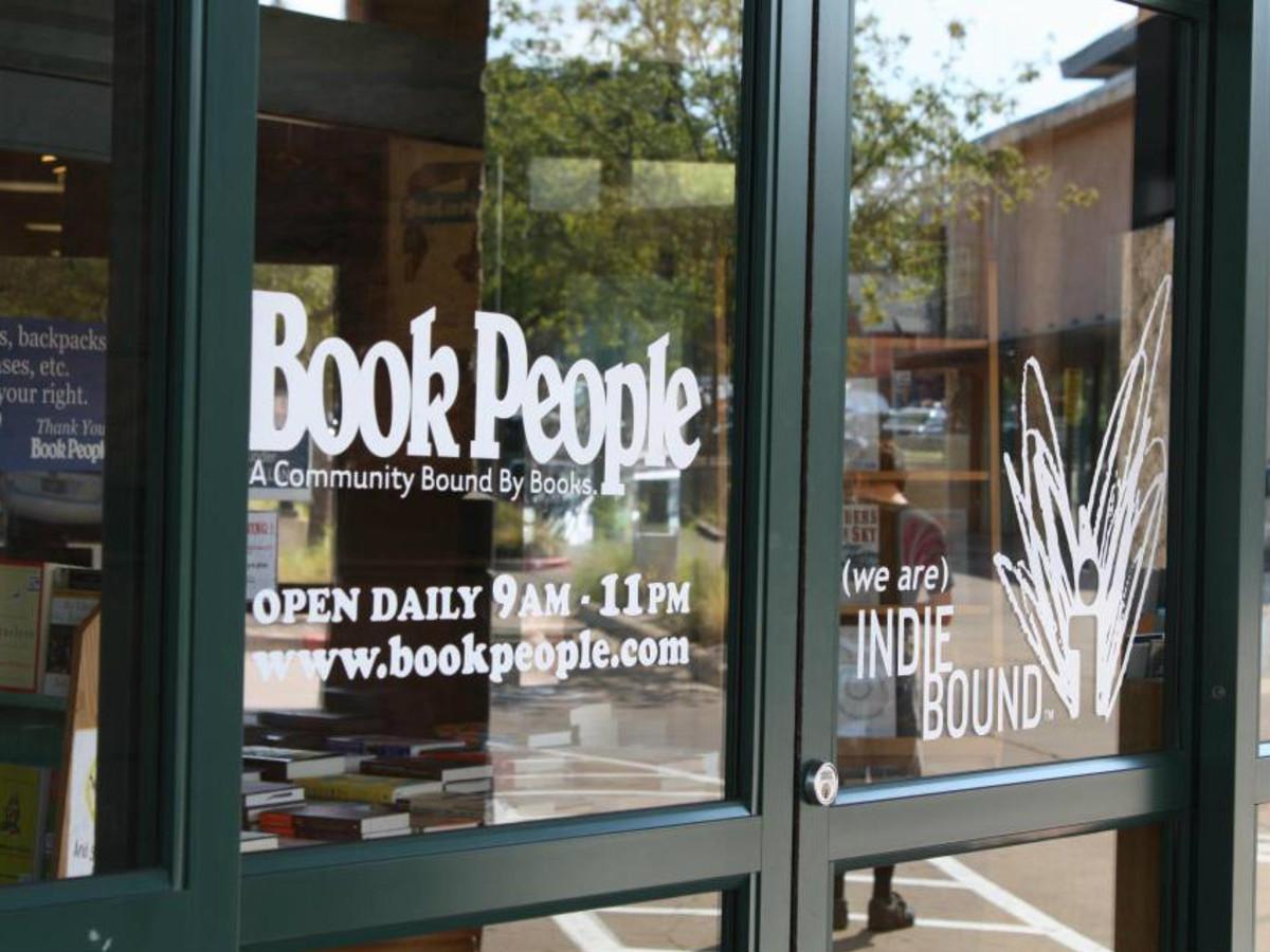 BookPeople doors