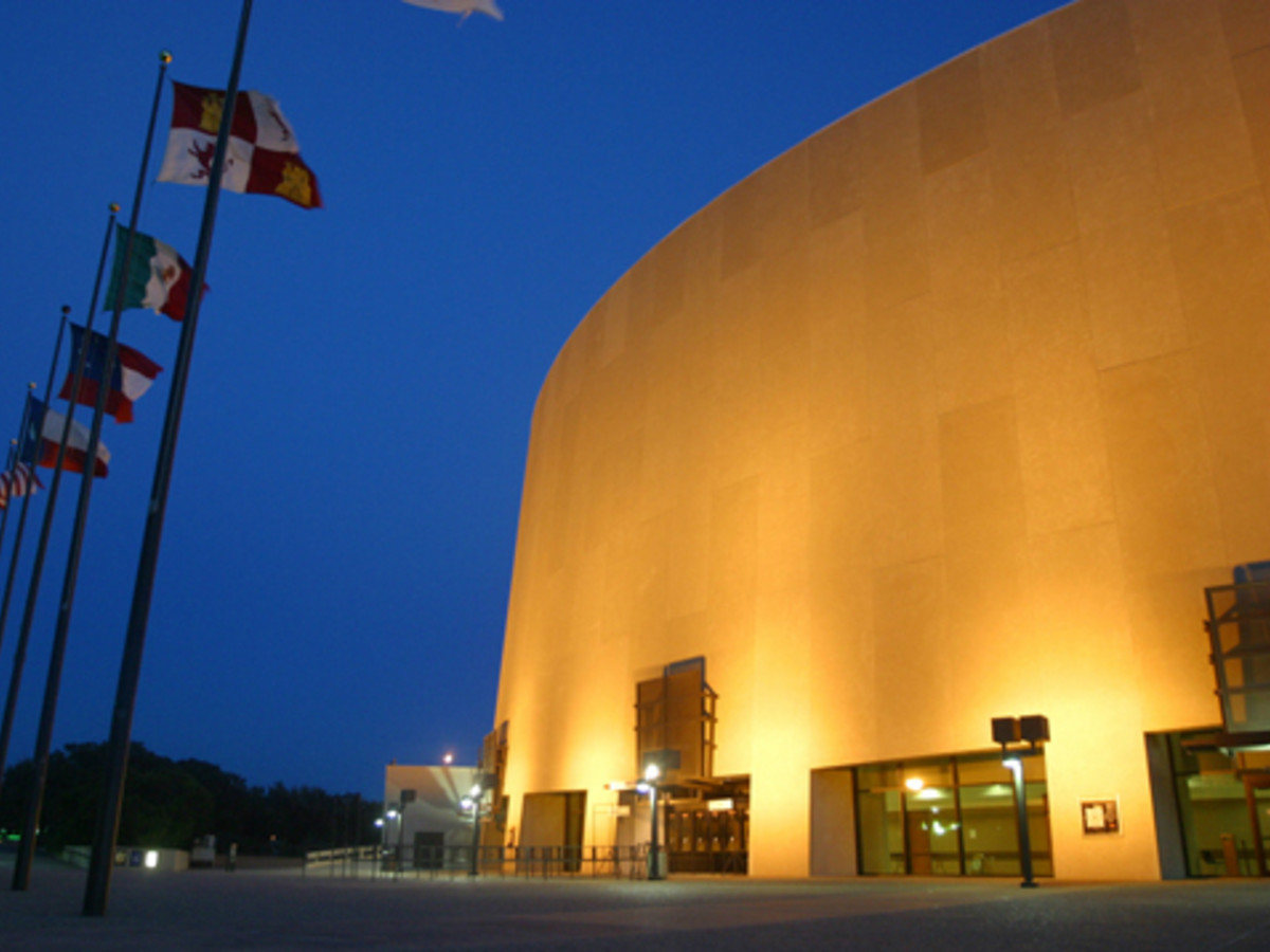 Austin Photo: Places_Entertainment_Frank_Erwin_Center_Exterior