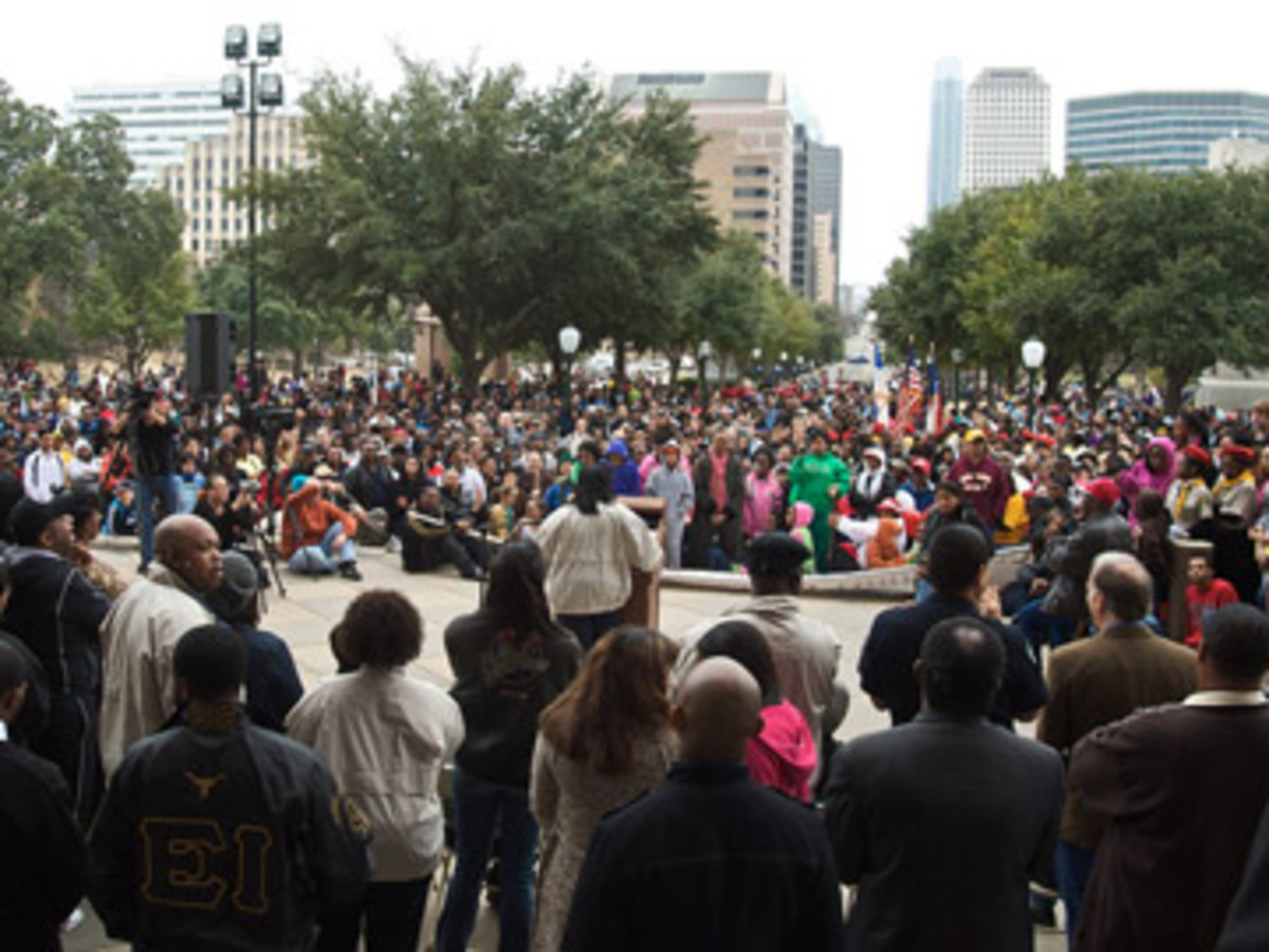 Austin Photo Set: Events_MLKMarch_UT_Jan2013