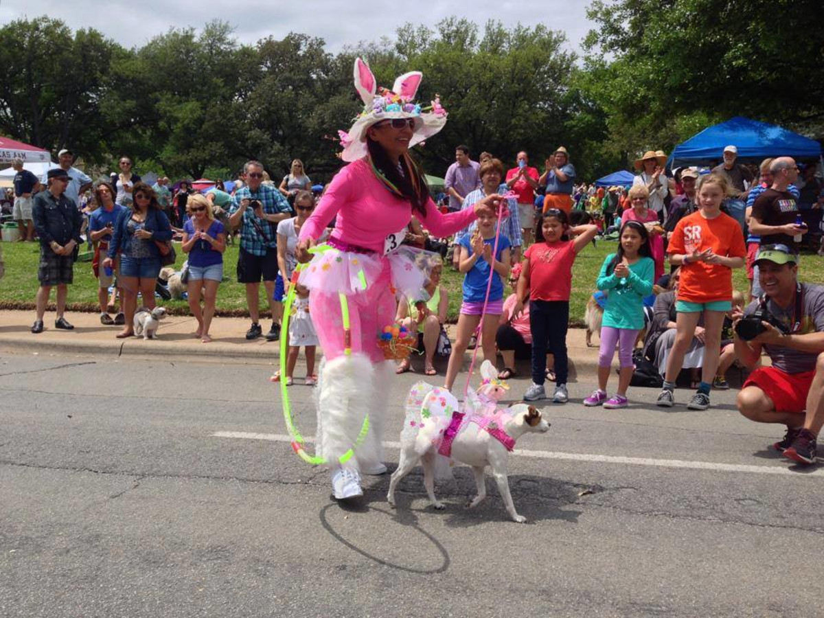 Easter in the Park, dog parade