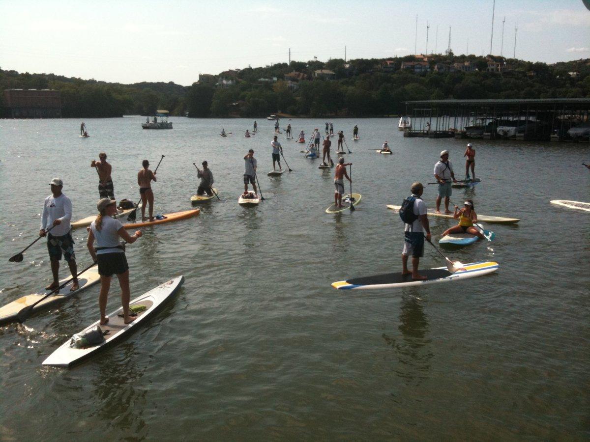 Austin Photo Set: News_Mark_dam that cancer_may 2012_1