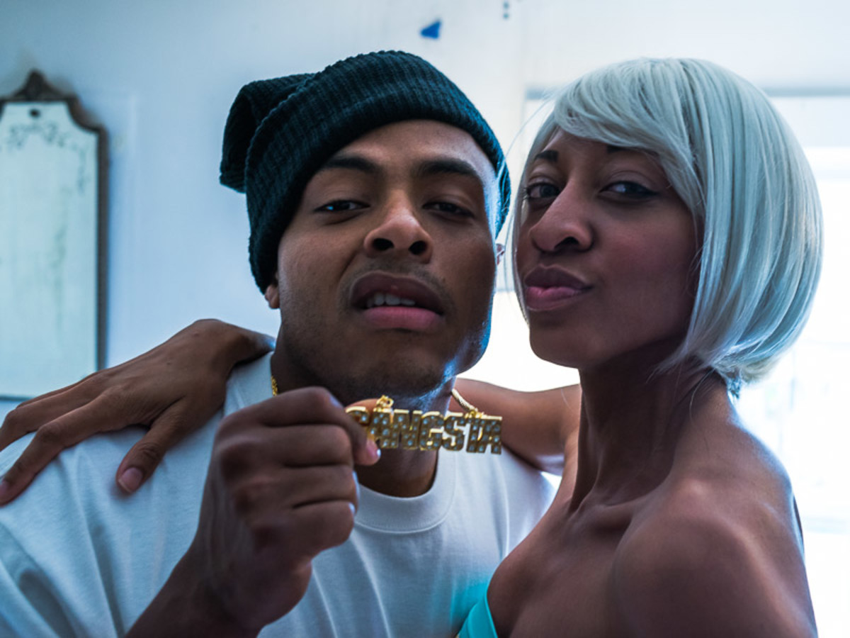 David Jeremiah and Rhianna Mack in T.N.B.