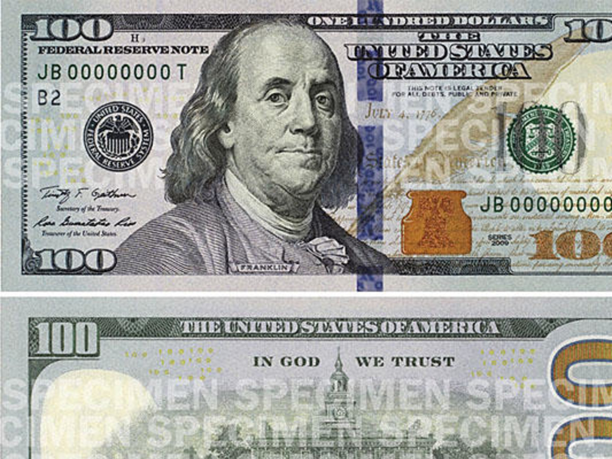 New 100 Bill Wider