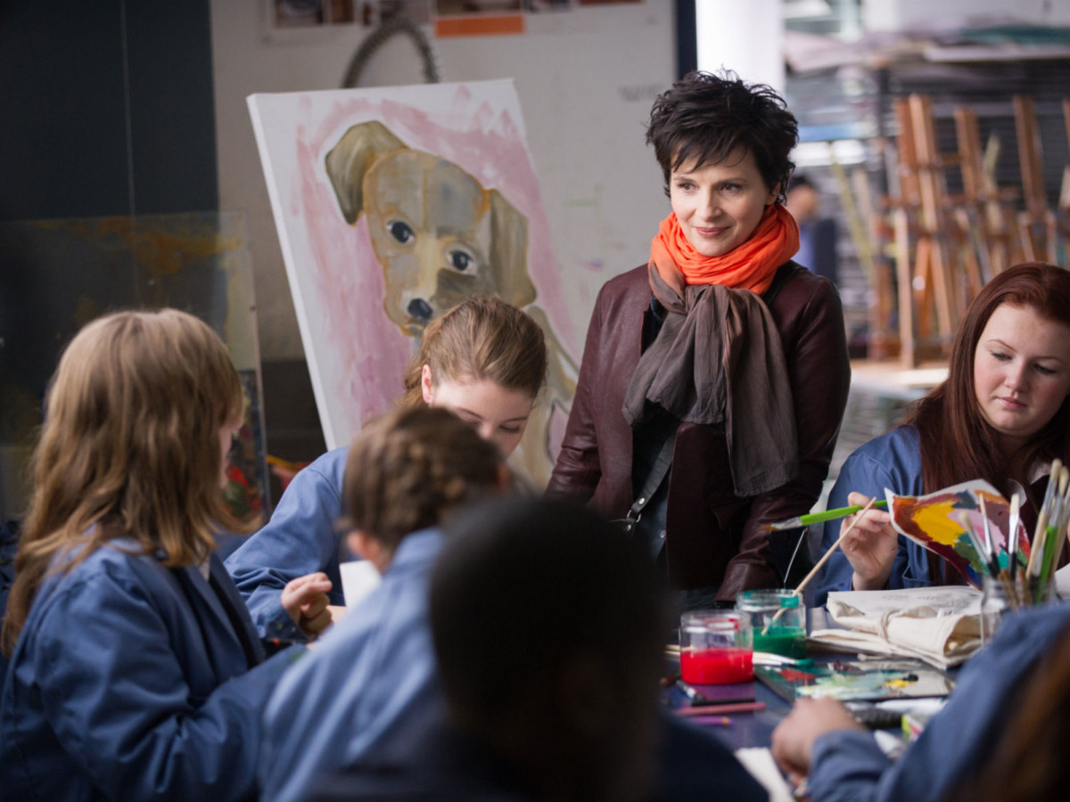 Juliette Binoche in Words and Pictures