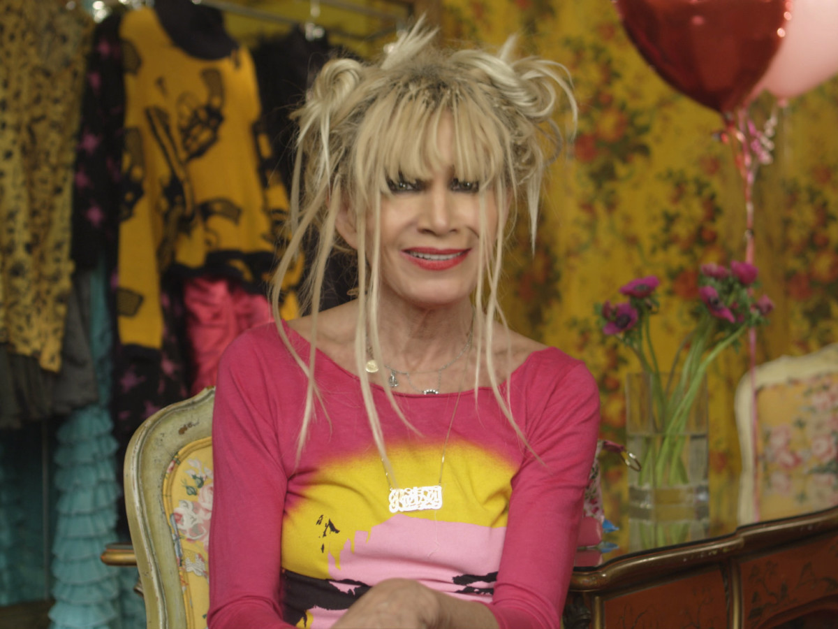 Betsey Johnson in The Tents documentary