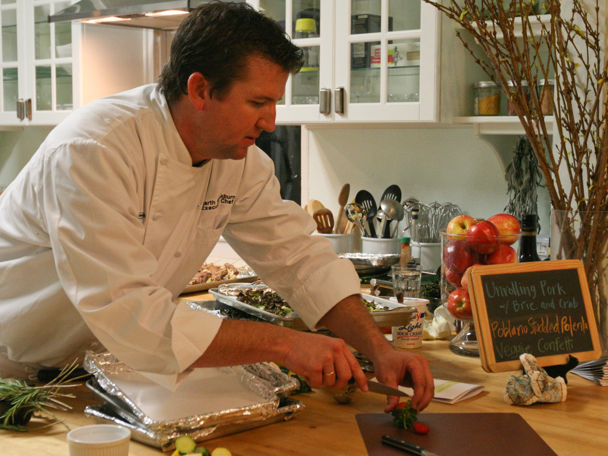 News_RecipeHouse dinner_February 2012_Chef Garth Blackburn