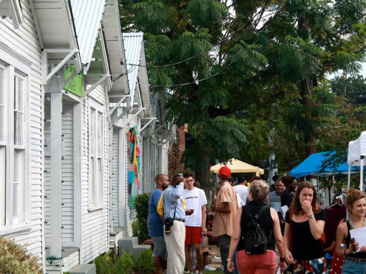 Project Row Houses' Third Ward Community Market & Talent Showcase