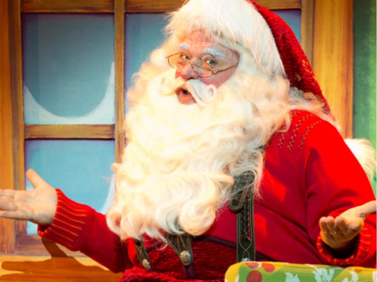 Santa on the Terrace - The Long Center 2014