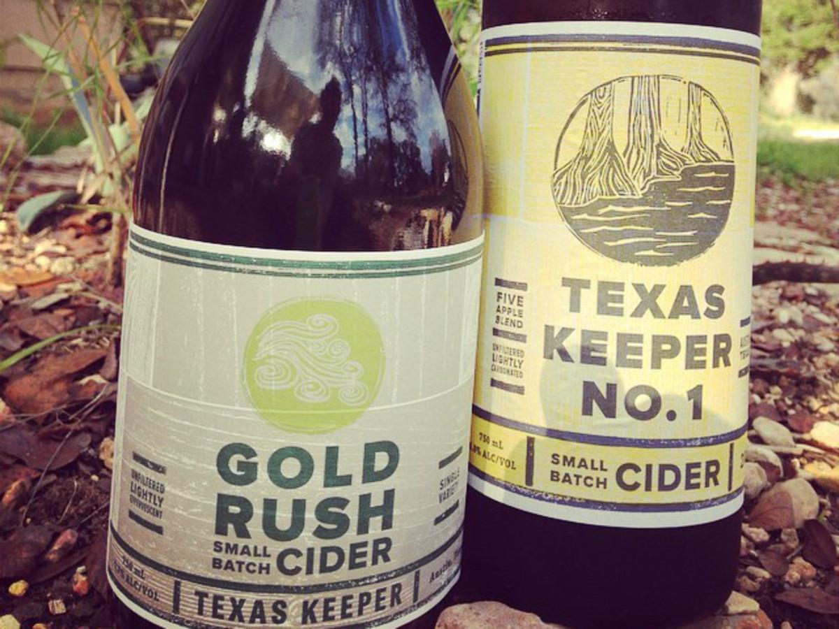 Texas Keeper Cider_Austin_Gold Rush Small Batch Cide_Texas Keeper No. 1_2015
