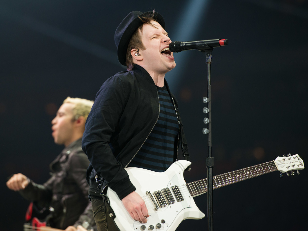 Fall Out Boy Patrick Stump at Houston Rodeo