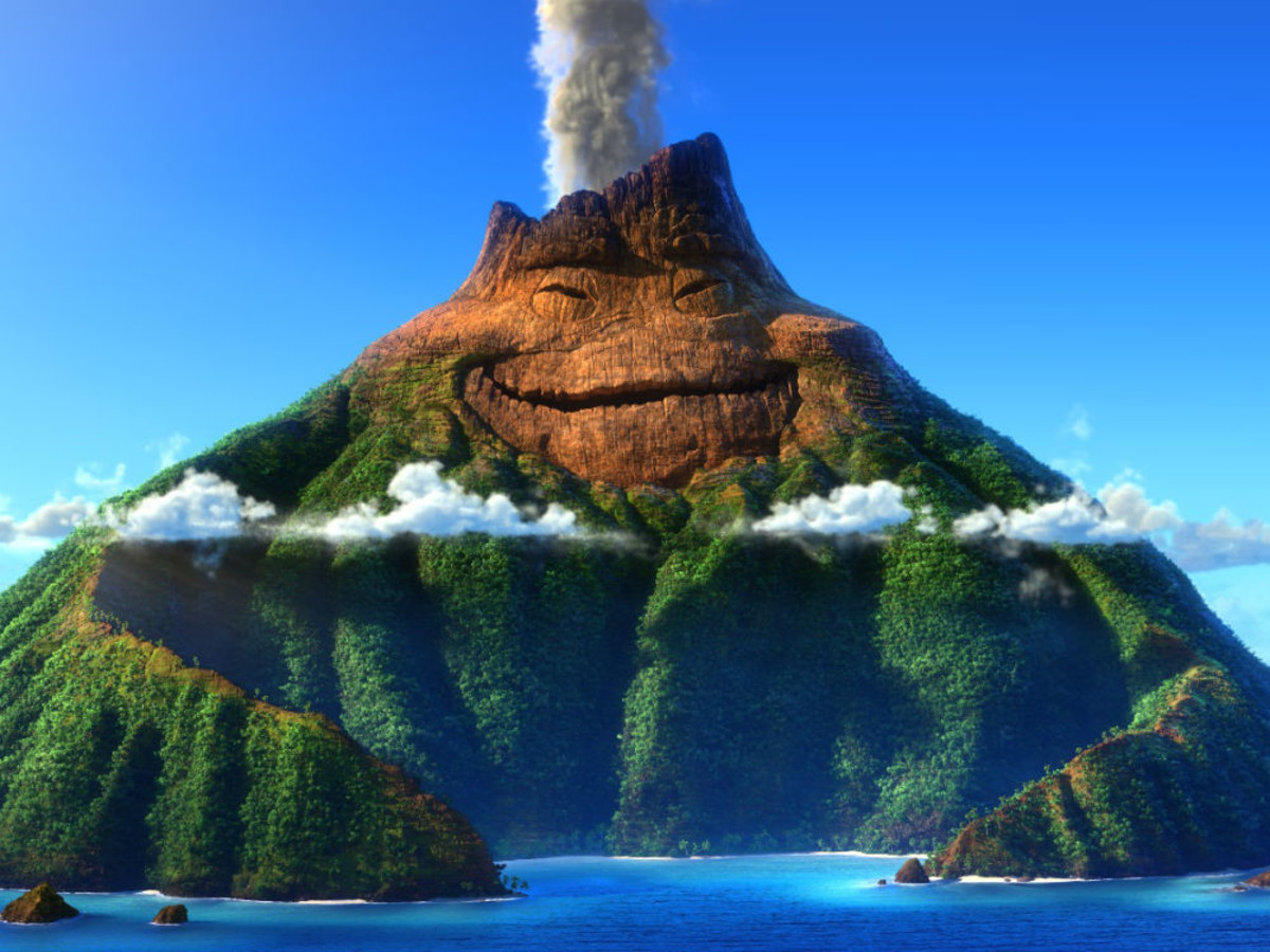 Pixar short film Lava