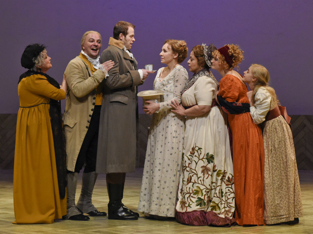 Dallas Theater Center presents Sense and Sensibility