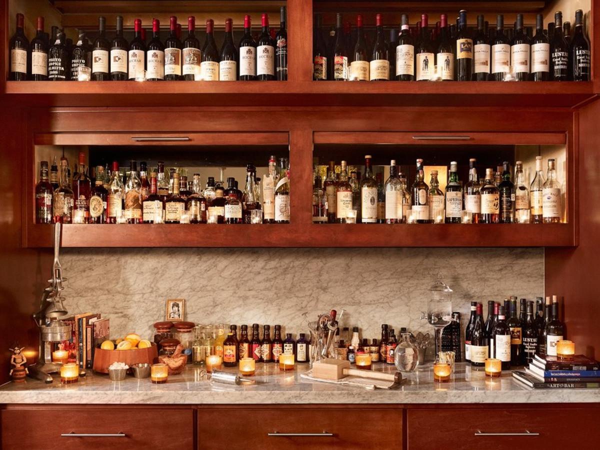 Congress Restaurant Austin wine list
