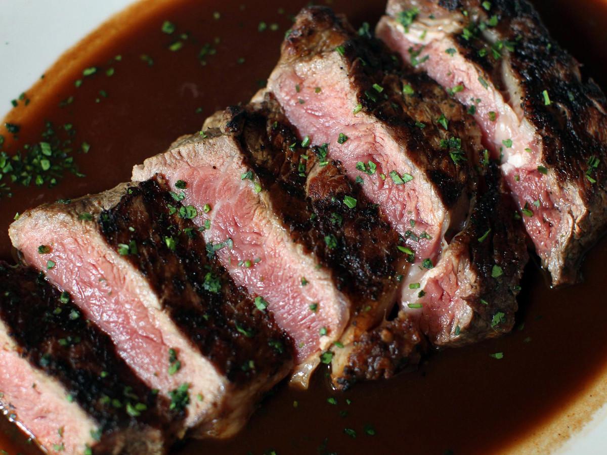 Tre Trattoria steak