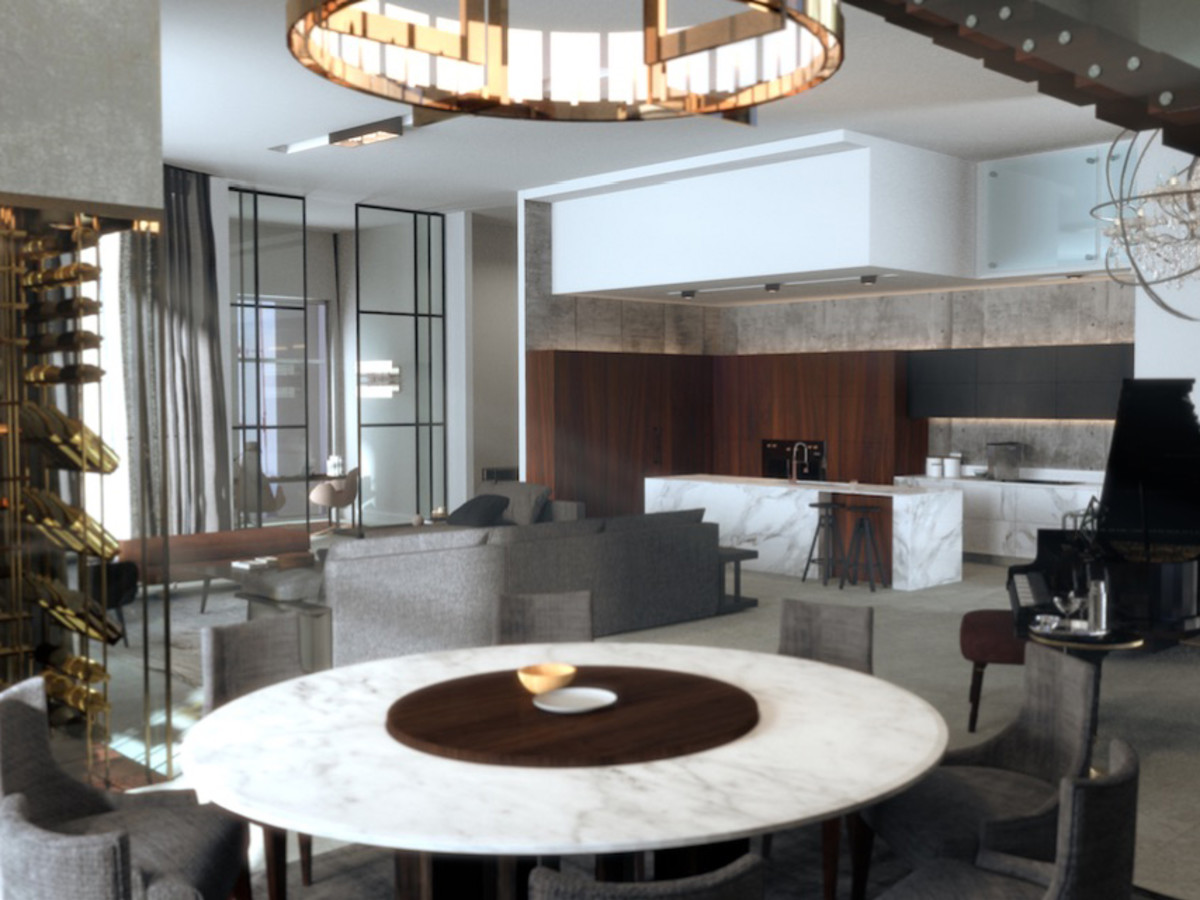 The Arts Residences at the Thompson Hotel penthouse