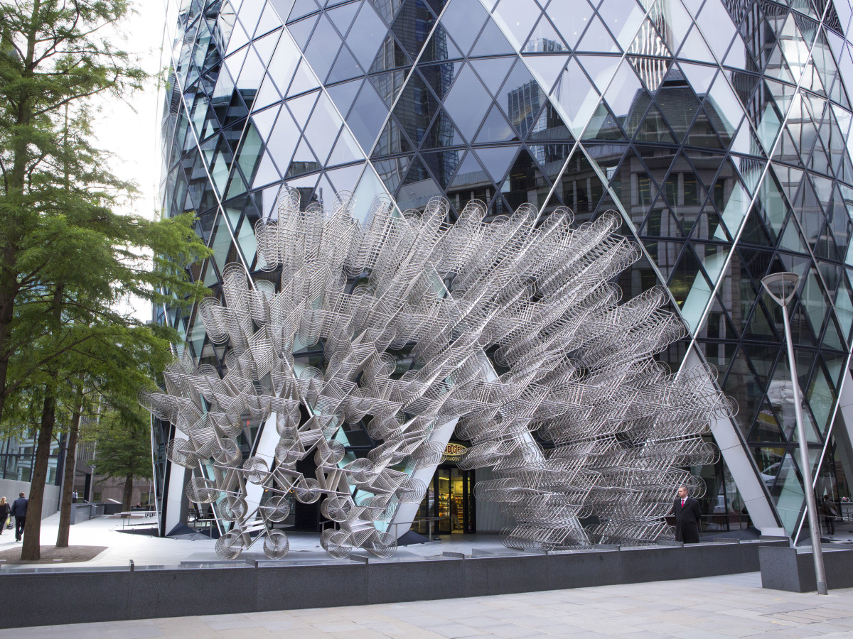 Forever Bicycle 2014 by Ai Weiwei in London