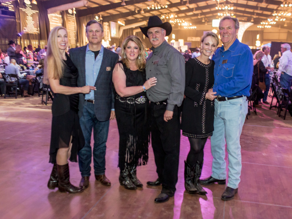 Houston, Cattle Barron's Ball, May 2017, Cindi Colvin, Robert Colvin, Denise Leisten, Robert Leisten, Tammy Norman, Kim Norman