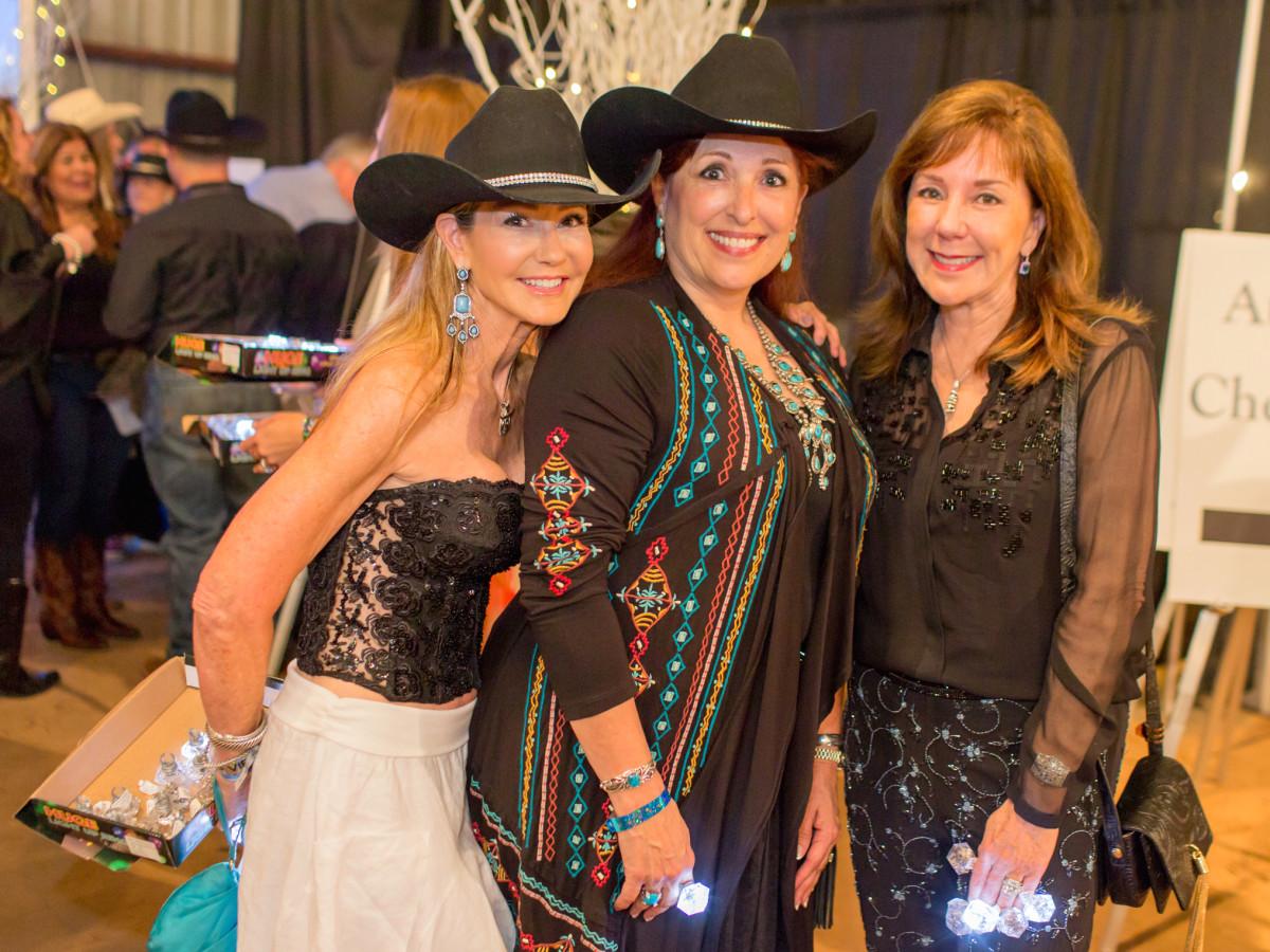 Houston, Cattle Barron's Ball 2017, May 2017, Patti Murphy, Sara Parr, Elizabeth Stein