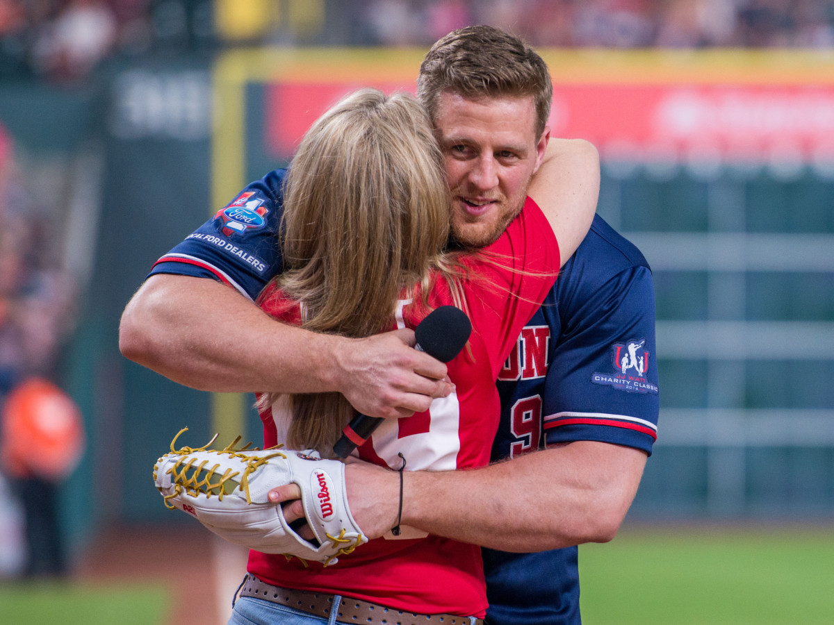 Houston, 5th annual JJ Watt Charity Classic, May 2017, J.J. Watt, Connie Watt