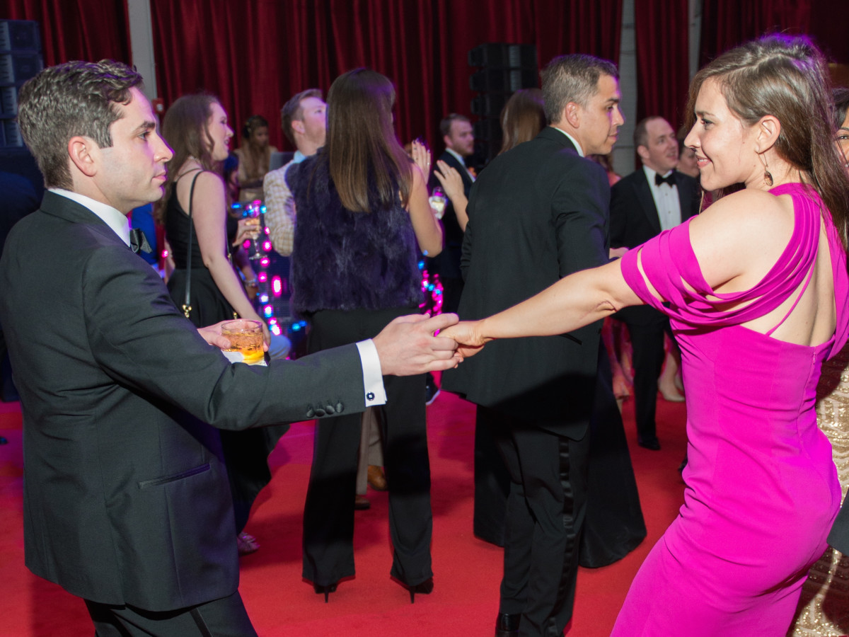 Marc and Amanda Eichenbaum at the Alley Theatre Ball