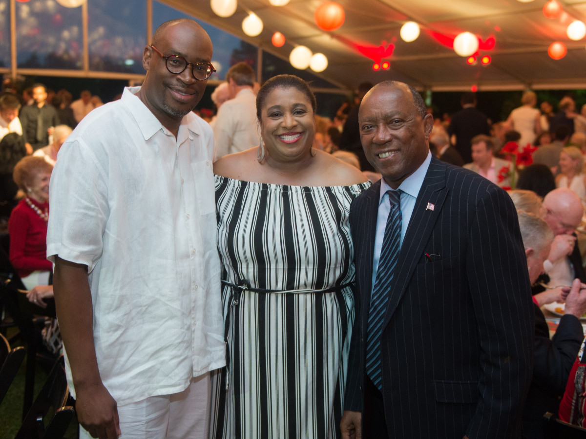 Houston, Hermann Park's  Evening in the Park 2017, May 2017, Larry Green, June Deadrick, Mayor Sylvester Turner