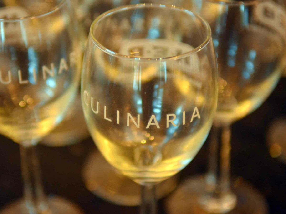 Culinaria Food and Wine Festival wine glasses