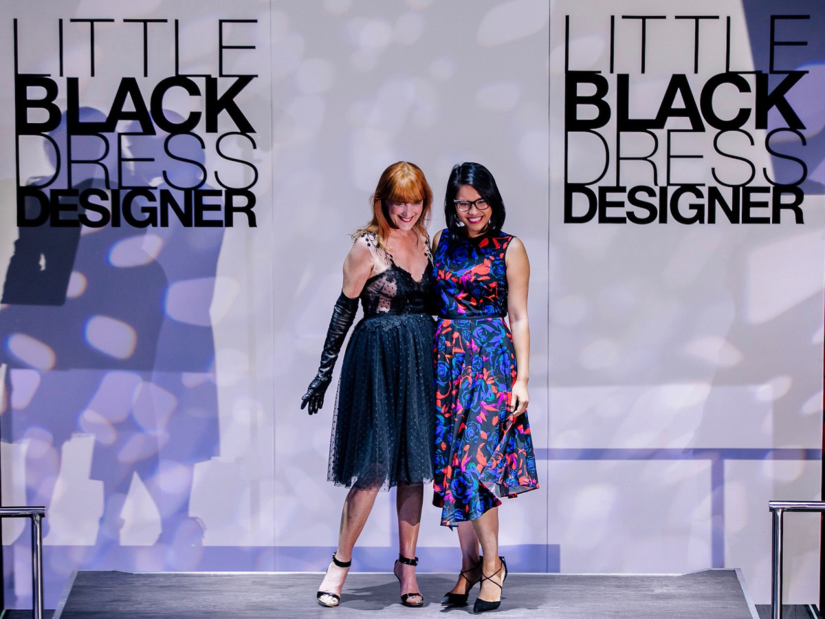 Gracie Cavnar, Kim Nguyen at Little Black Dress Designer 2017
