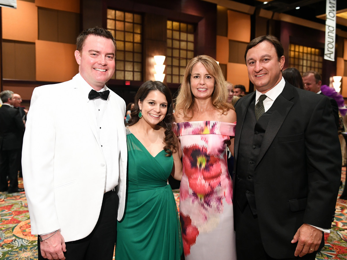Houston, JDRF Promise Ball Havana Nights, May 2017, Drew Dougherty, Vita Dougherty, Paige Fass, Richard Fass