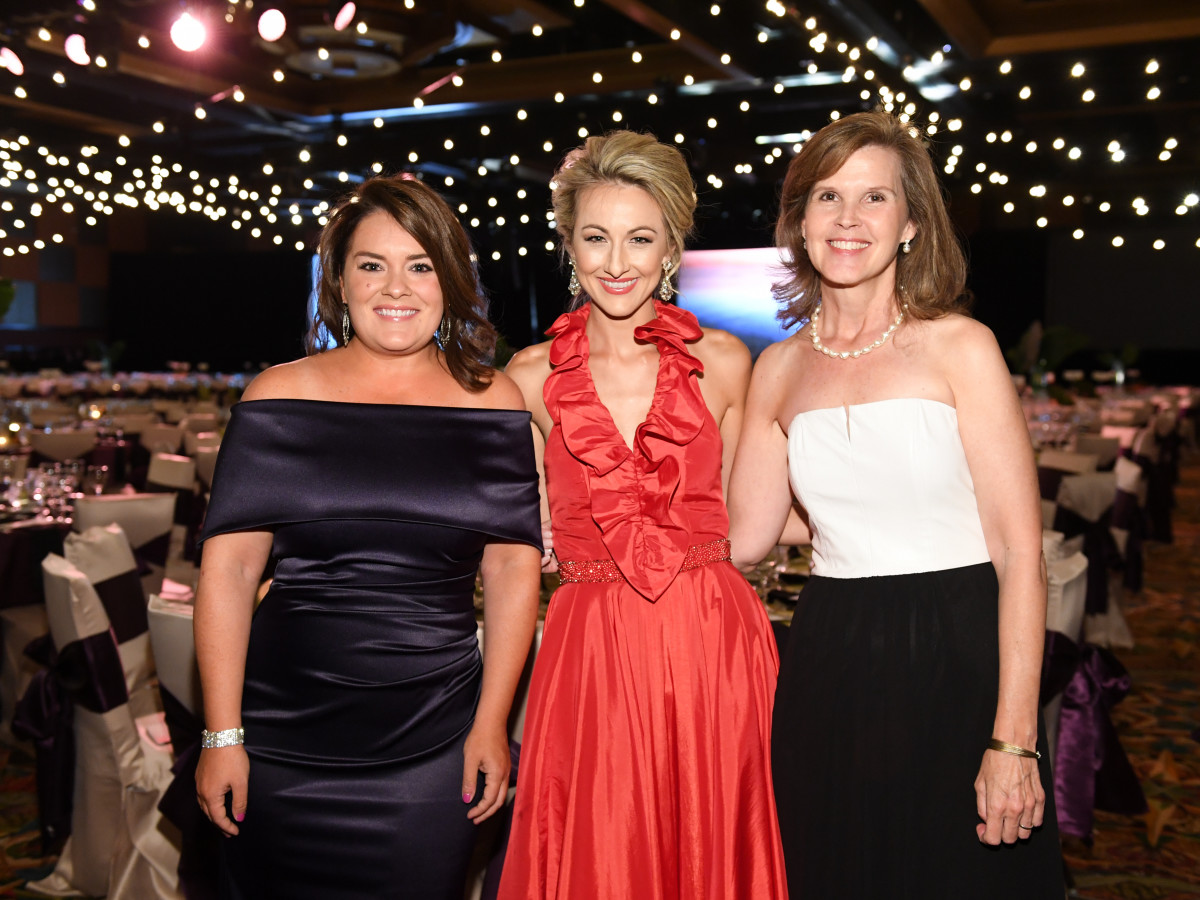 Houston, JDRF Promise Ball Havana Nights, May 2017, Erin Feeney Dyer, Mallory Williams, Alison Grage Fleming