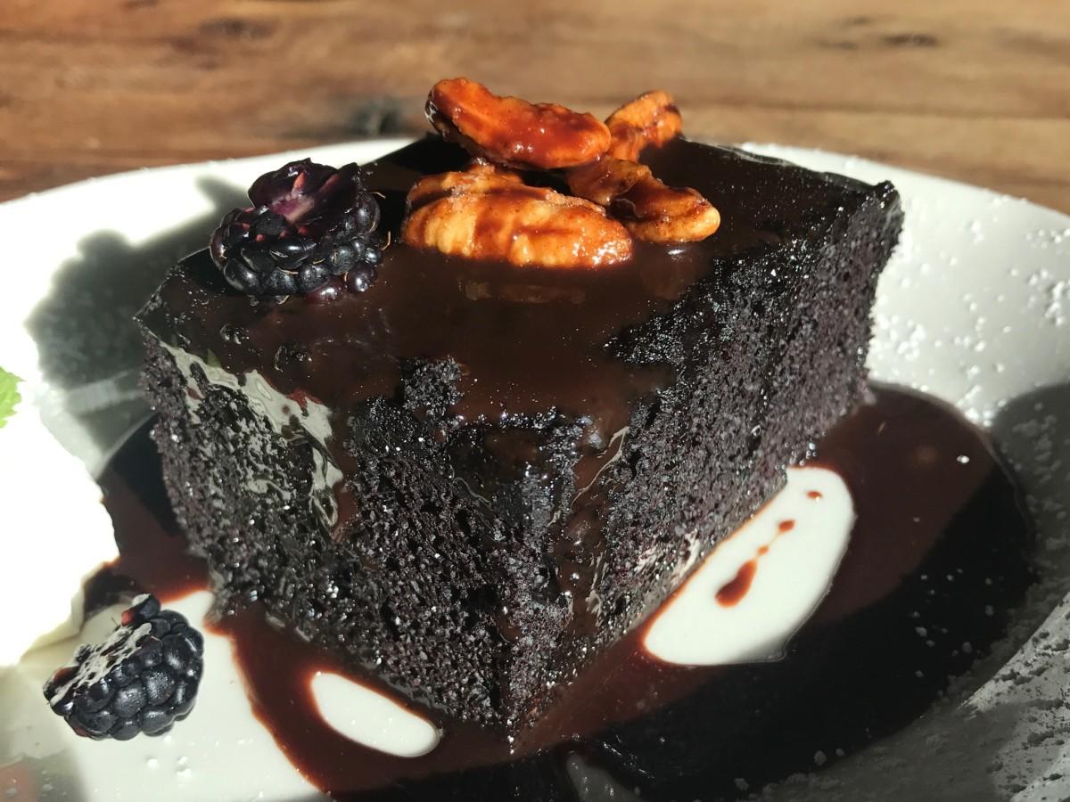 Armadillo Palace chocolate cake