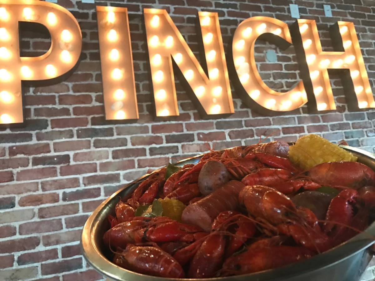 Pinch Seafood crawfish