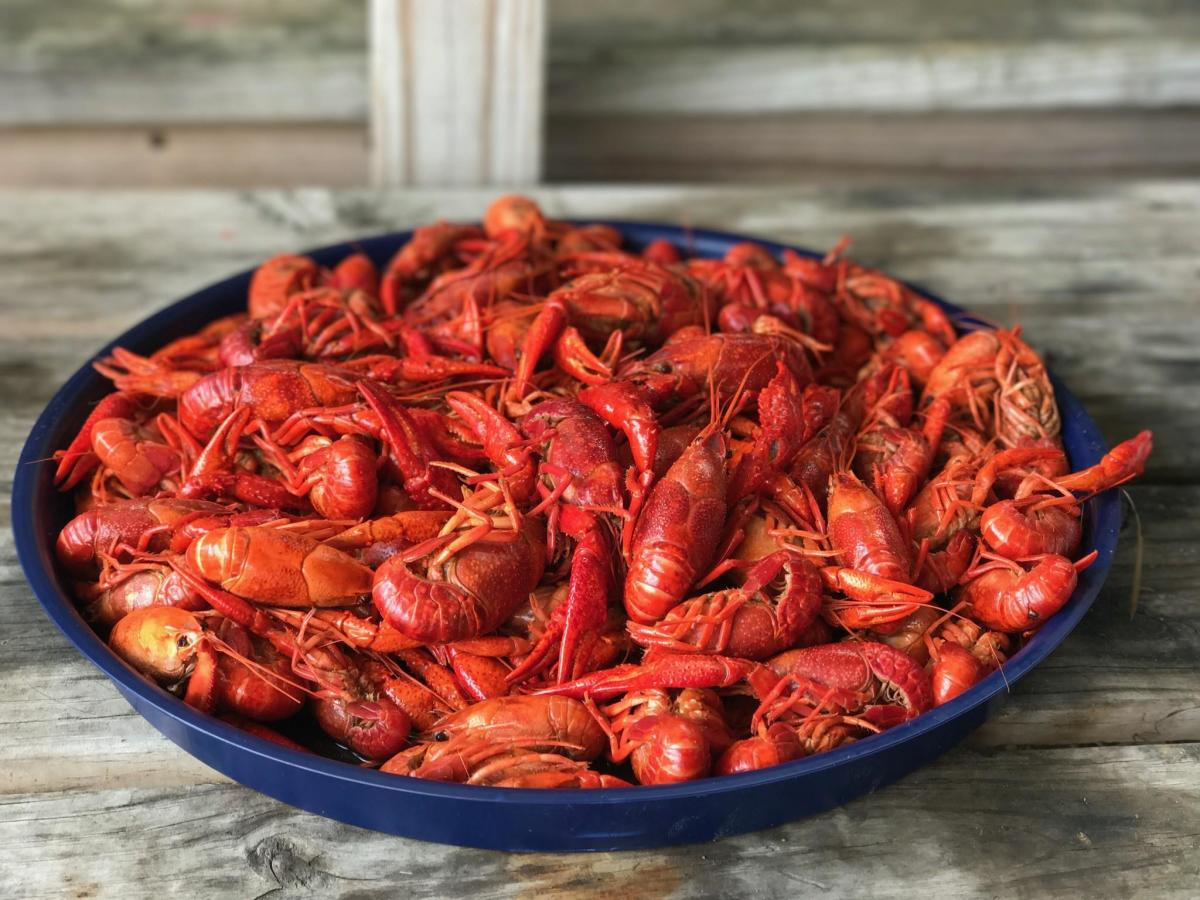 Mels Seafood Shack crawfish
