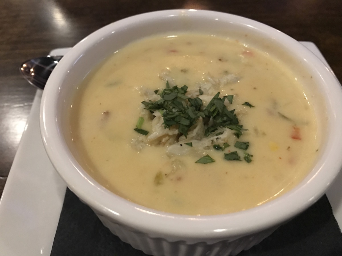 Pinch Seafood corn bisque