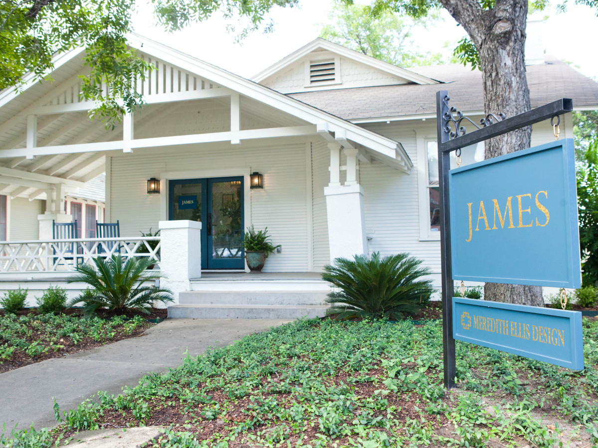 James showroom Austin