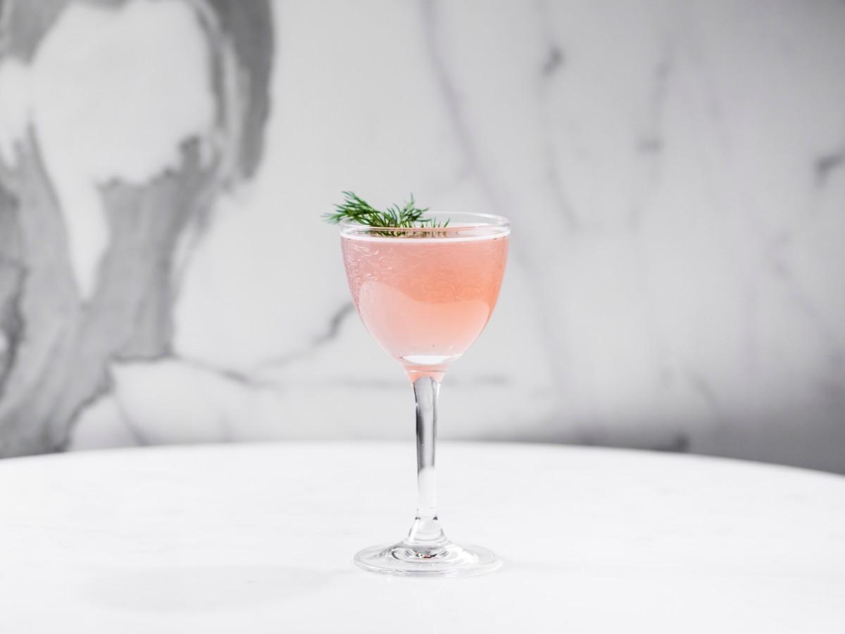 Yauatcha desert essence cocktail
