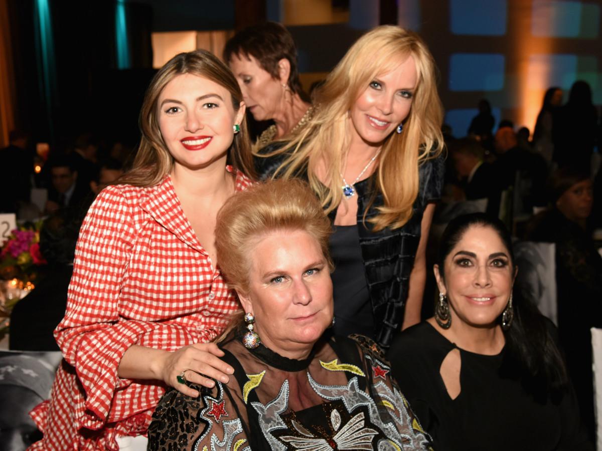 Nasiba Adilova, Nancy Rogers, Georgina Hartland, and Sue Gragg