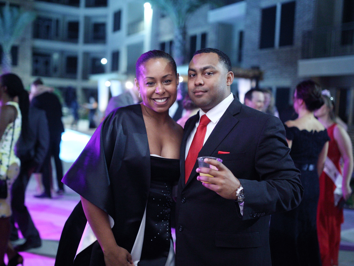 Houston, Big Brothers Big Sisters YP The Big Prom, Feb 2017, Danielle Daniels, LaMorris Daniels