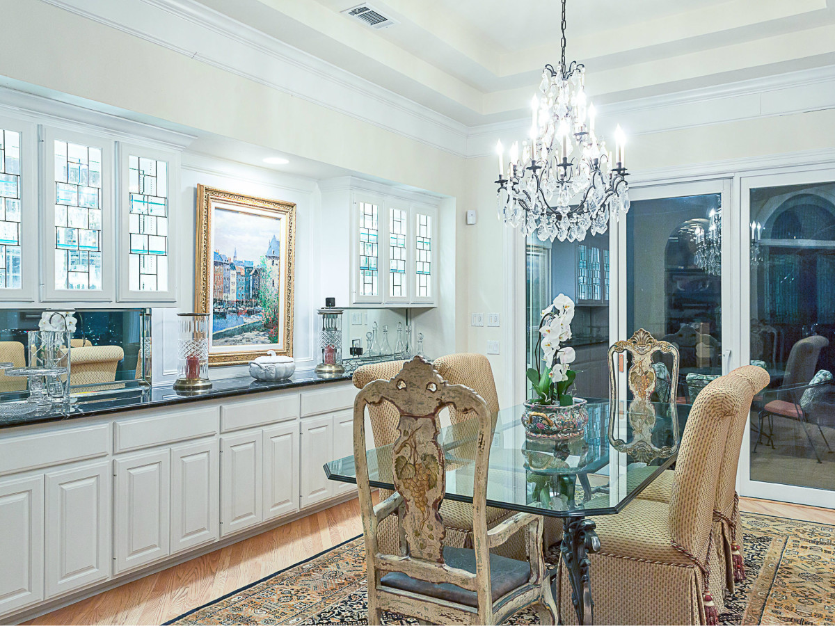 6603 Courtyard Austin house for sale dining room